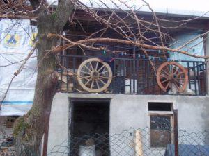 Köyün eski evleri