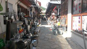Muğla çarşı sokakları